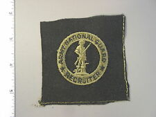 U. S. Army National Guard Senior Recruiter subdued Badge, brand new never issued