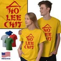 Ho Lee Chit Funny Rude Sarcastic Nerd Gift Short Sleeve T-Shirt Tees Tshirts