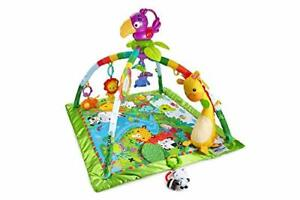 Fisher-Price Rainforest Music Lights Deluxe Gym Amazon Exclusive Multicolor