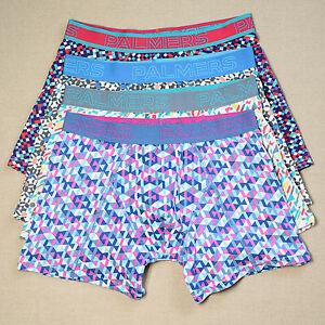 4 Pack Mens Cotton Comfy Underwear Trunk Boxer Short Size S Free Post