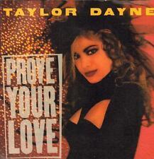 "Taylor Dayne(7"" Vinyl P/S)Prove Your Life-Arista-109830-UK-1988-Ex/VG+"