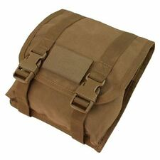 CONDOR MOLLE Large Utility Nylon Pouch ma53-498 COYOTE BROWN