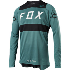 Fox Racing Flexair Long Sleeve L/S Jersey Green/Black