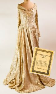 Frances Gifford Paramount Studios Screen Worn Gown - NO RESERVE - DK87.1