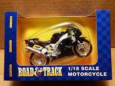 MAISTO Die-Cast - 1/18 Scale Motorcycle Blue Yamaha YZF R1 Deltabox EXUP II