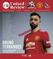 Manchester United v Crystal Palace 19/9/20 PL MATCH PROGRAMME! READY TO POST!