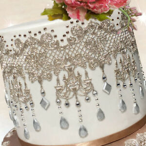 2 X Crystal Light Cake Lace STRIPS                Check Out My New  Great Prices