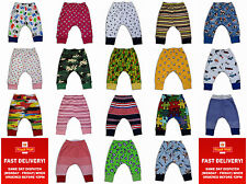 kids girls toddler boys trousers leggings harem pants 2-3-4-5years cotton
