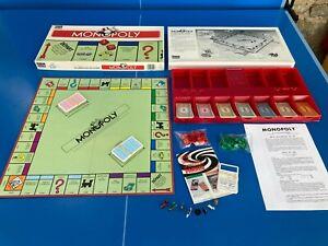 Monopoly Classique MIRO PARKER - Jeux de société complet ancien 6 pions RARE N15