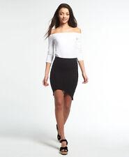 Womens Superdry Santorini Lace Wrap Skirt Black S