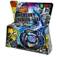Beyblade Mercury Anubis (Anubius) Black Blue Metal Fusion Set With Launcher USA
