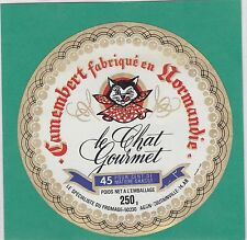 J1080 FROMAGE CAMEMBERT CHAT CLECY CALVADOS AGON-COUTAINVILLE MANCHE