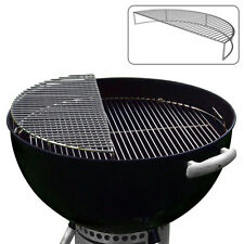 Stainless Steel Warming Rack, Grill, Smoke, Cook Grate, For 22.5 Weber Kettle