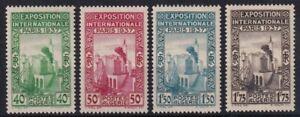 ALGERIA 1937 MINT SET #109/112, PARIS INTERNATIONAL EXHIBITION !! D85