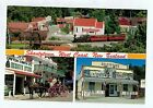 D7593cgt Transport Rail New Zealand Shantytown postcard