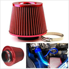 75mm Universal 3' Air Intake Cone Filter Turbo Vent Crankcase Breather Car/Truck