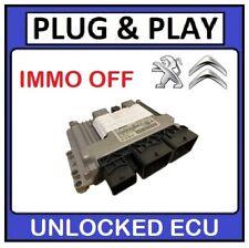 PLUG & PLAY - PEUGEOT 207 1.4 HDI DIESEL ENGINE ECU - 0281015849 9874254080