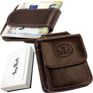 TONY PEROTTI Magnet hält sicher Geldklammer Geldschein Geldclip Dollarclip brown