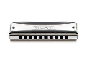 SUZUKI F-20E Fabulous Series Diatonic Equal Temperament Harmonica, Key of G
