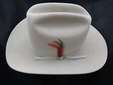 STETSON COWBOY HAT - 4X BEAVER PELT FUR - RANCHER  - SIZE 7 1/8