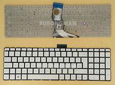 NEW UK Keyboard For HP Pavilion 15-ab112na 15-ab111na 15-ab110na White No Frame