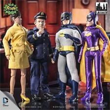 Batman 1966 Tv Series 5,Set of 4; 8 INCH FIGURES  BATGIRL, BATMAN,  MOSC NEW