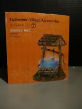 Dept 56 Halloween Haunted Well Lighted - Lemax Spooky Town