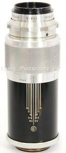 REID Dallmeyer DALRAC F=13.5cm f4.5 - RARE Telephoto Lens! in Leica LTM Screw