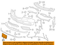Acura HONDA OEM 14-16 MDX-License Plate Bracket Mount Holder 71180TZ5A00