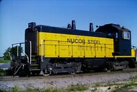 Original Slide Nucor Steel Railroad Switcher 944 SW1200 Crawfordsville, IN 2003
