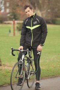cycle jacket XTP Sport Reflective bike be seen running windbreaker rainproof