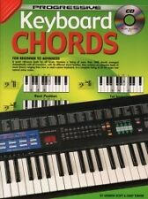 PROGRESSIVE KEYBOARD CHORDS Book & CD