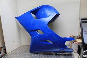13 HYOSUNG GT650R BLUE LEFT MID UPPER SIDE FAIRING COWL PLASTIC 650