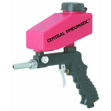 20 Ounce Gravity Feed Spot Blaster Gun With Hopper Remove Paint and Rust