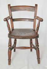 Antique 19th-Century English Oak Child's Chair