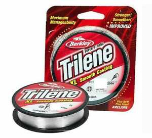 Berkley Trilene XL Clear, Monofilament Fishing Line, New, Choice of Size& Length