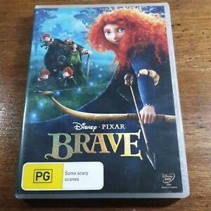 Brave Disney Pixar DVD R4  Like New! FREE POST