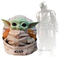 "Star Wars The Mandalorian THE CHILD (BABY YODA) 11"" Plush Figure Mattel GWD85"