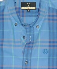 """DUCK & COVER MEN'S FITTED SPORTS CHECK SHIRT SIZE MEDIUM UK38""""-40"""" CHEST"""