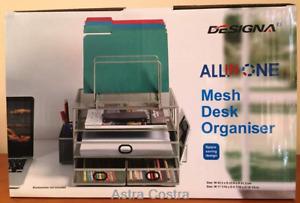 Designa all in one mesh desk File Letter Tray Organiser
