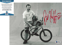 MAT HOFFMAN BMX PRO RIDER SIGNED 8x10 PHOTO BIKING X GAMES BECKETT COA BAS