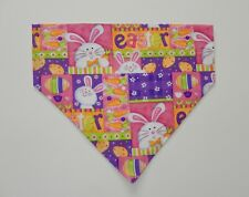 EASTER  MISC LARGE OVER THE COLLAR DOG SCARF/BANDANA