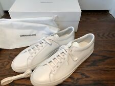 New in Box Common Projects Men's Achilles Low White Sneakers Size 43EU/10US