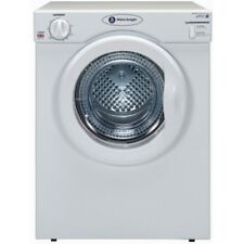 White Knight C39AW 3.5kg 2 Temps Compact Vented Tumble Dryer with Reverse Action