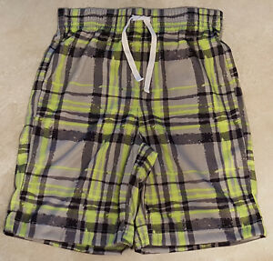 Boys New Knit Sleep Shorts: Medium