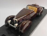 Brumm 1/43 Scale Metal Model - R169 BUGATTI 57S ROADSTER HP 165 1936