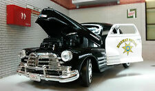 G LGB 1:24 Scale Chevrolet Aerosedan Fleetline 1948 USA Highway Police Car 76400