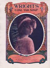 LONDON, Anzeige 1913, Wright's Coal Tar Soap