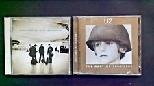 2 U2 CD's-The Best of 1980-1990 / All That You Can't Leave Behind