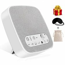 White Noise Machine Premium Sleep Therapy Sound Machine new 2018 free sleep mask